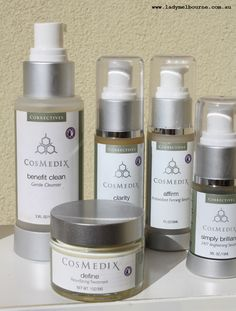Cosmedix skincare products.  In this post I thought I'd share with you what I've been using on my skin for the last couple of months, and give you a review of some products that have been sent to me, or that I've bought. #skin #beauty #glow #cosmedix #peels #cosmetics #makeup