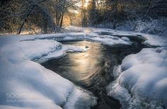 #Nature breathtaking #Photos River in winter by VisitorQ http://ift.tt/1Q9Zlp3