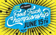 Food Truck Championship - Caitlin Robinson | Designer Layout Inspiration, Graphic Design Inspiration, Typography Letters, Lettering, Food Truck Festival, Food Trucks, Print Design, Branding Design, Posters