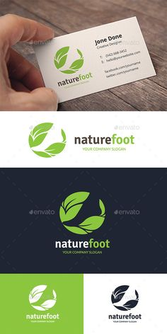 Nature Foot Care Logo Template Vector EPS, AI Illustrator. Download here: https://graphicriver.net/item/nature-foot-care/17455995?ref=ksioks