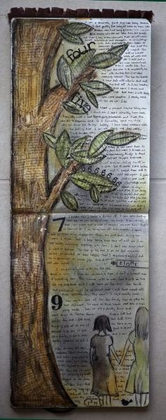 I would love to do something like this with my favorite book(s) of the Bible. So creative.