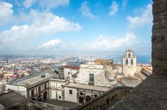 View From Castel Sant'Elmo, Naples, Italy