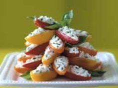 Cheese & Herb Mini Sweet Peppers Recipe