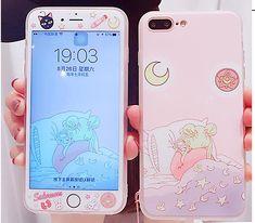 Cute Peach Phone Case for iphone Max Kawaii Phone Case, Pink Phone Cases, Cute Phone Cases, Iphone 7 Plus Cases, Iphone 8, Iphone Phone Cases, Phone Covers, Aesthetic Phone Case, Phone Themes