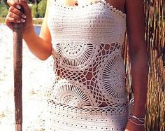 Crochet tunic PATTERN detailed instructions in by FavoritePATTERNs