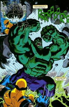 Wolverine vs. Hulk   Ava Giden Avlanır