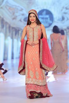 Lengha by Rani Emaan at PBCW 2014