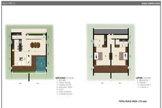 Aqua Samui Duo Villa type C offers units at 175 sqm per unit along with private swimming pool and panoramic view