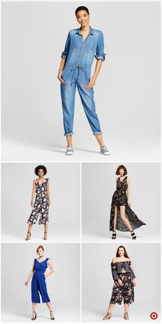 Jumpsuits & Rompers for Women : Target One Piece Jumper, Editor, Jumpsuits, Harem Pants, Capri Pants, Target, Ads, Free Shipping, Store