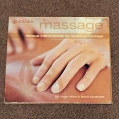 Massage: Sensual Instrumentals for Soothing Massage by Jorge Alfano (CD, Music)  #CentralSouthAmerica