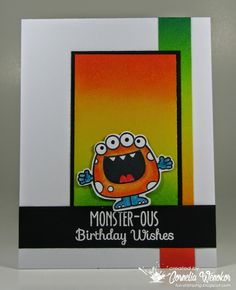 Your Next Stamp - Silly Monsters #yournextstamp
