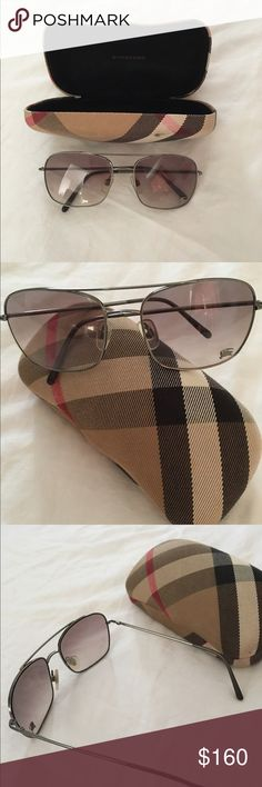 Authentic Burberry sunglasses I had this Burberry glasses for quite a few years. This one of favorite glasses amongst the other that I own. It never goes out of style and perfect for any kind of fashion you wore. This is authentic and paid about $250+ There is few signs of usage   Best offer is acceptable as long as it is reasonable. Burberry Accessories Glasses