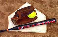 A bat,glove,and a ball.Its because softball has am Imporant part in my life. Slowpitch Softball Bats, Softball Players, Baseball, Softball Things, Fastpitch Softball, Batting Average, Slow Pitch Softball, Sports Fanatics, Softball Pictures
