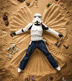Eric the beach Stormtrooper