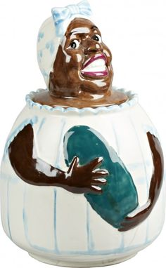 "Black Americana Weller ""Mammy"" Ceramic Cookie Jar"