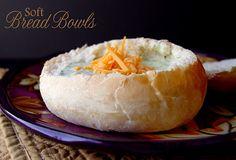 Soft Bread bowl