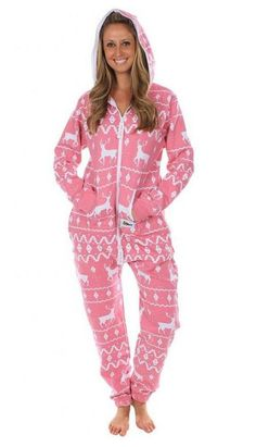 08c5830c39 Womens Fair Isle Pink Onsie Womens Fair Isle Pink Onsie https   www.