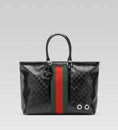 Gucci Men Bags GUCCI TOTE BLACK $212.00