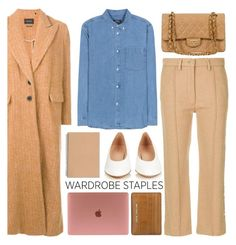 """""""camel"""" by foundlostme ❤ liked on Polyvore featuring Mansur Gavriel, A.P.C., MM6 Maison Margiela, Isabel Marant, Michael Kors and WardrobeStaples"""