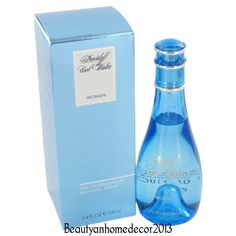 Cool Water Perfume by Davidoff 3.3 oz Deodorant Spray for Women NEW IN BOX #Davidoff