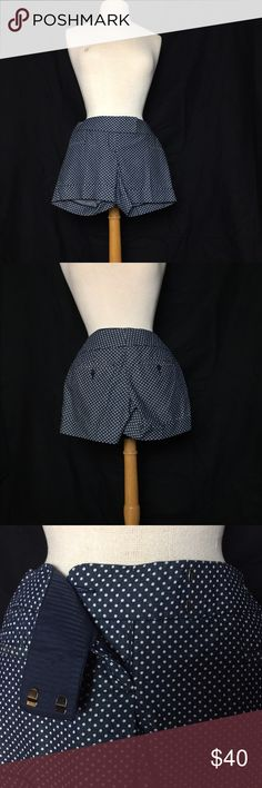 Blue polka dotted shorts Blue shorts with white polka dots from Outback Red. Brand new with tags, never worn. Size 0. Outback Red Shorts
