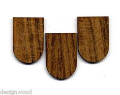 100er-Pack Holzschindel Holzschindeln Dachschindeln Teak Teaksperrholz