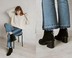 Kristina Magdalina - Zaful Sweater, Zaful Boots - Sweater Weather