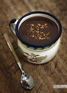 Chocolate a la taza a la española. Receta
