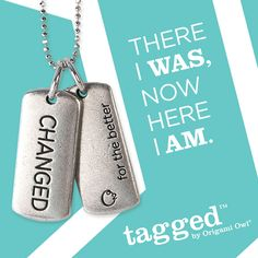 Check out our new Changed Tag. There I was, now here I am.