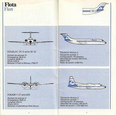 Airline memorabilia: Aviaco (1986/1987)