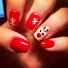 Ready to decorate your nails for the Christmas Holiday? Christmas Nail Art Designs Right Here! Xmas party ideas for your nails. Be the talk of the Holiday party with your holiday nail designs. Christmas Gel Nails, Christmas Nail Art Designs, Holiday Nails, Christmas Ideas, Christmas Holiday, Nail Designs For Christmas, Chrismas Nail Art, Christmas Decorations, Winter Nail Designs