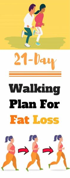 A 21-Day Walking Plan For Fat Loss ( Try ! )