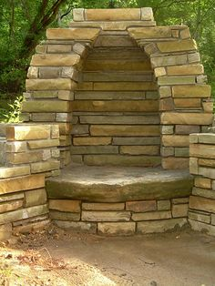 outdoor fireplace pit - Google Search