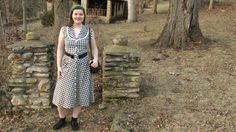 Bright Days of Winter Outfit: A Forties Day Dress House Dress, Classic House, Day Dresses, Winter Outfits, Bright, Fashion, Moda, Winter Clothes, Fashion Styles