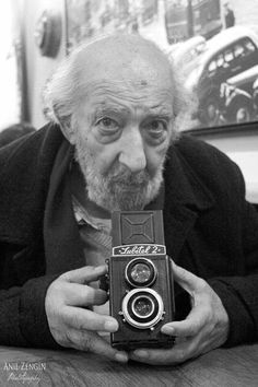 "TURKEY ::: Ara Güler, nicknamed ""the Eye of Istanbul"" or ""the Photographer of Istanbul"". He is considered one of Turkey's few internationally known photographers"