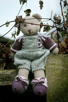 mary jane's tearoom | Pattern: Candy bear by Susan Hickson at Mary Jane's Tearoom