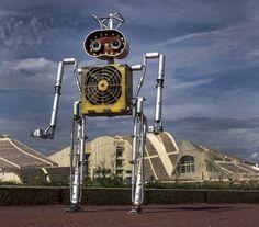 Nuevo robot de LA FACTORÍA DE ANDROIDES by SÁTRAPA