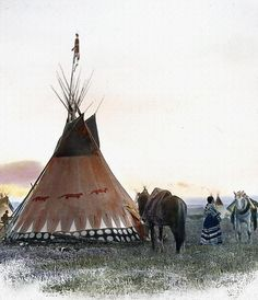 Otters Tipi by John Guthrie