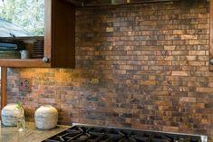Küchendekor Mit Kupfer Auf Dem Armaturenbrett