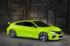 The 2016 Honda Civic Coupe is coming to the Los Angeles auto show, along with the U.S. version of the Clarity Fuel Cell.
