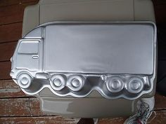 Semi Truck Cakes Pans