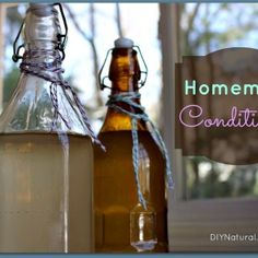 Homemade Conditioner For Hair (Apple Cider Vinegar and Water)