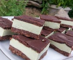 Naughty but nice choc mint slice (raw, vegan, paleo) | Official Thermomix Recipe Community