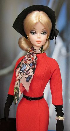 Barbie Dolls : Love that scarf Play Barbie, Barbie I, Vintage Barbie Dolls, Barbie World, Barbie Dress, Barbie And Ken, Barbie Clothes, Chic Chic, Mermaid Gown
