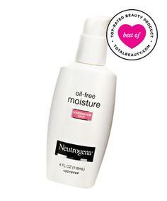 Best Drugstore Beauty Product No. 22: Neutrogena Oil-Free Moisture for Combination Skin, $11.99