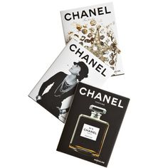 ASSOULINE Chanel Set ($75) ❤ liked on Polyvore featuring fillers, books, backgrounds, accessories, decor, magazine, text, details, doodles and quotes