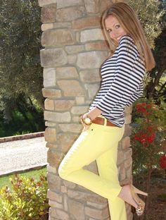 CAbi striped tshirt
