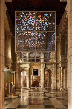 Sam Jacob creates Sea Things installation for London Design Festival London Design Week, London Design Festival, Atrium, Eames, Two Way Mirror, Do Ho Suh, V & A Museum, Ocean Scenes, Victoria