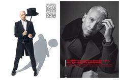 Anderson Cooper Covers November LUomo Vogue, Embraces Sartorial Fashions for Photo Shoot image Anderson Cooper LUomo Vogue November 2014 Cover Photo Shoot 004 800x533
