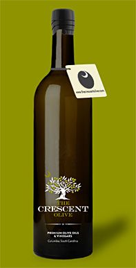 White Truffle Pure Olive Oil - The Crescent Olive of Mt Pleasant / Columbia Olive Oil Packaging, Food Packaging, Packaging Design, Packaging Ideas, Transparent Labels, Flavored Olive Oil, Olive One, Garlic Olive Oil, Pure Olive Oil